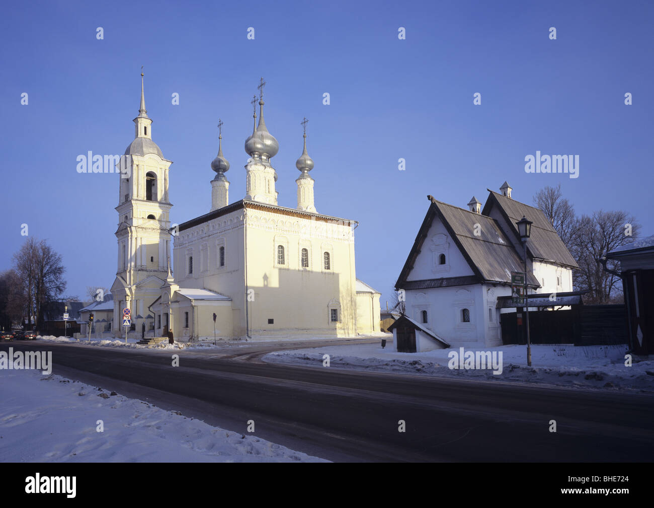 Suzdal town View, near Vladimir, Russia - Stock Image
