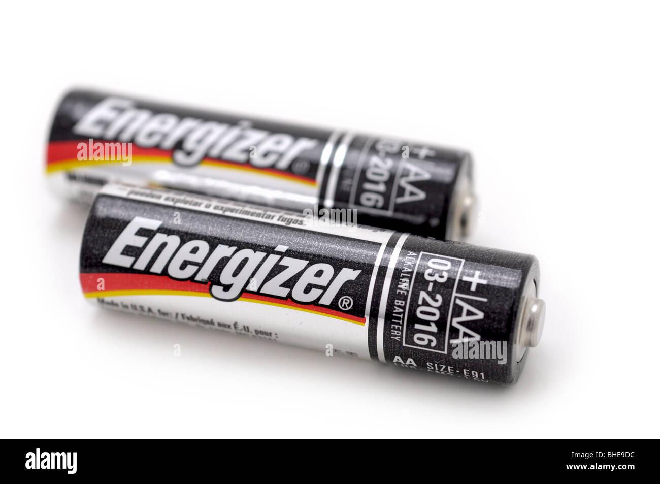 Alkaline AA Batteries - Stock Image