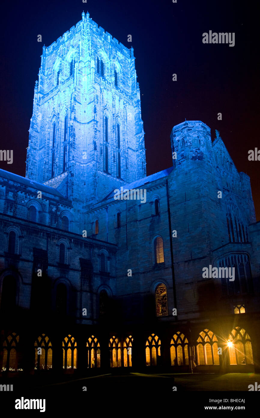 Durham Cathedral in northeast England. - Stock Image