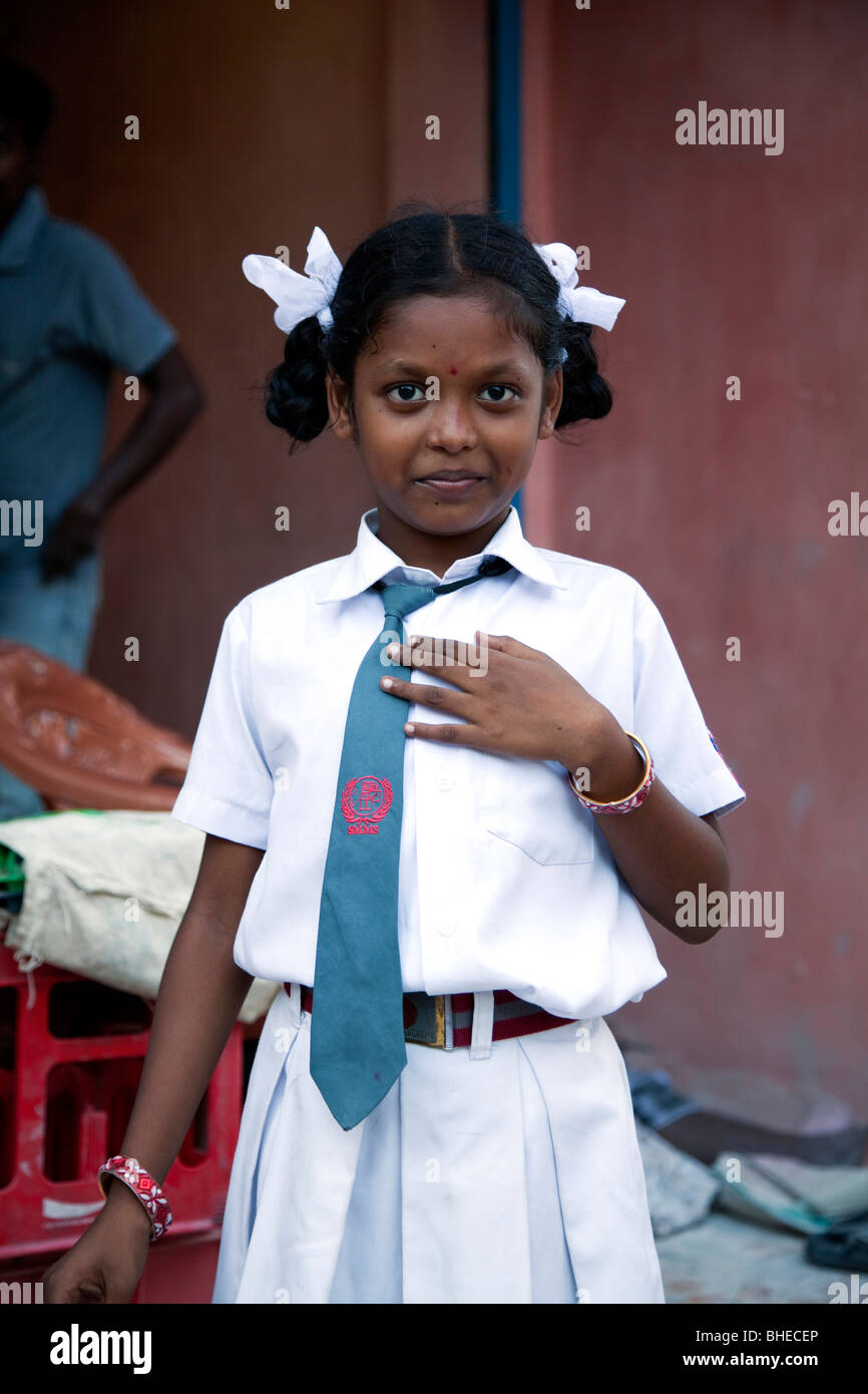 Young Indian Girl In Tamil Stock Photos  Young Indian -4791