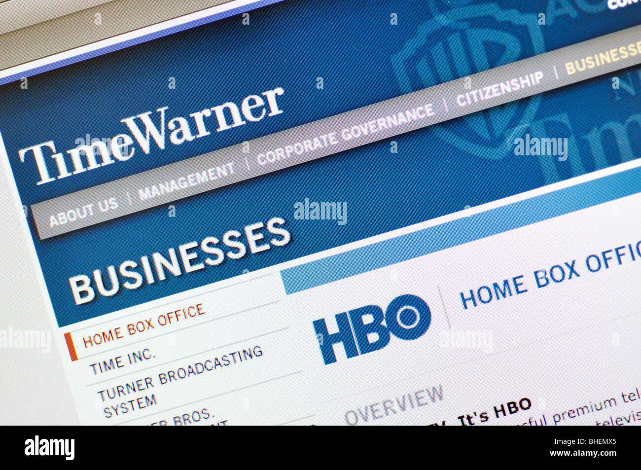 Timewarner Internet Cable Tv Provider Stock Photos & Timewarner ...