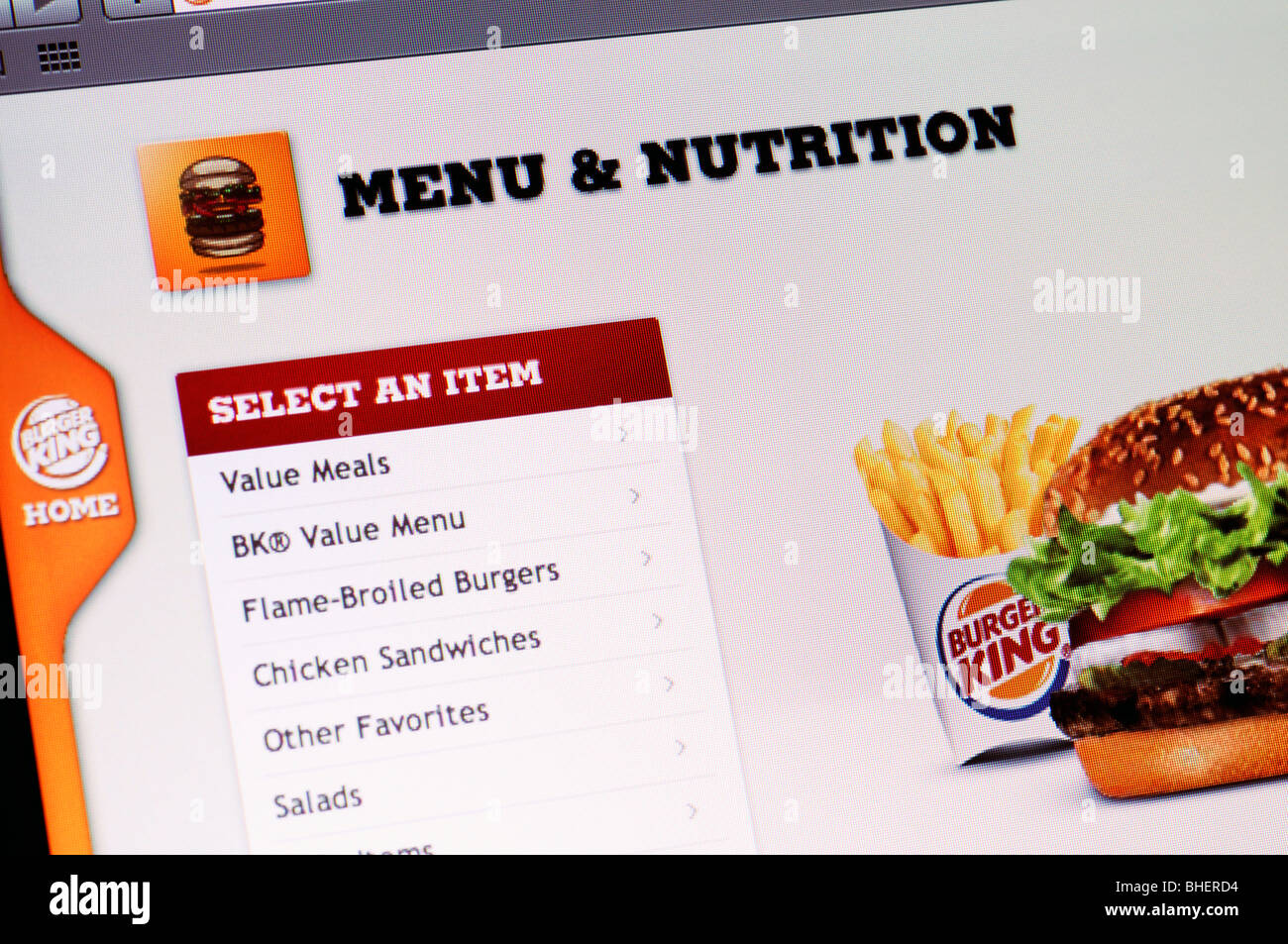 Online Fast Food Stock Photos & Online Fast Food Stock Images - Alamy