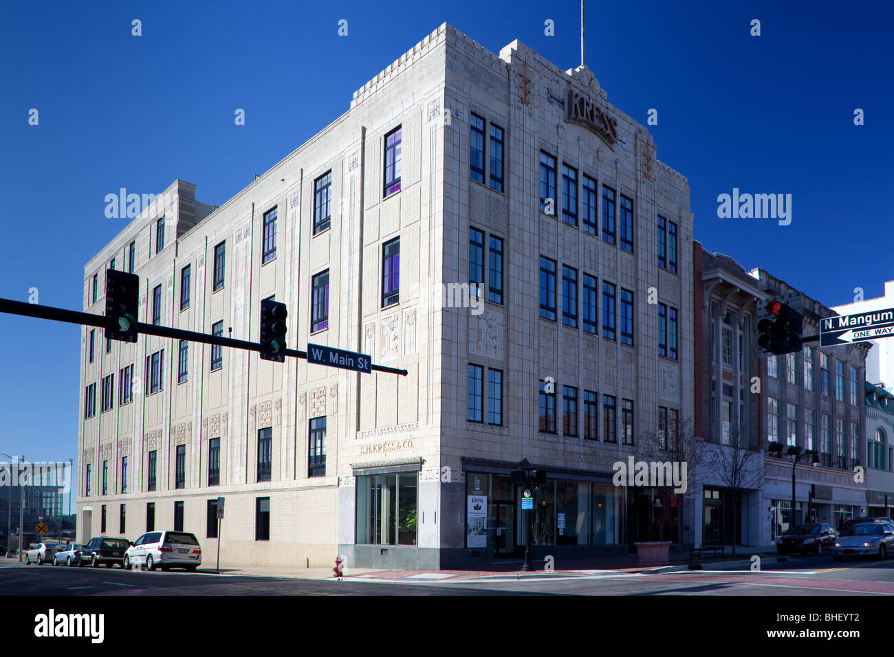 Kress Building, Durham North Carolina - Stock Image