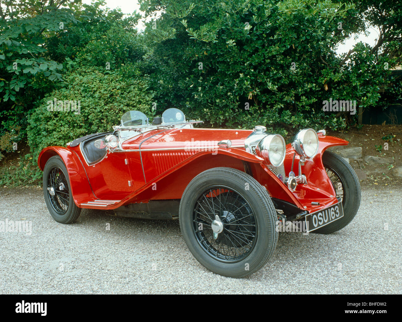 Car 1934 Riley 'Imp' 9MP - Stock Image