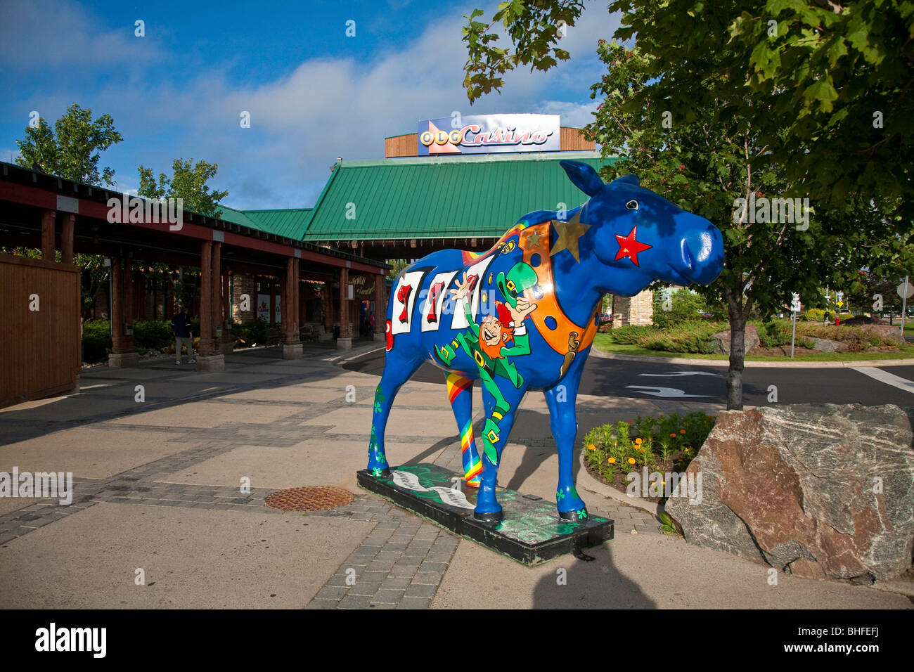 The OLG Lottery Gaming Casino in Sault Ste.Marie,Ontario,Canada,North America - Stock Image