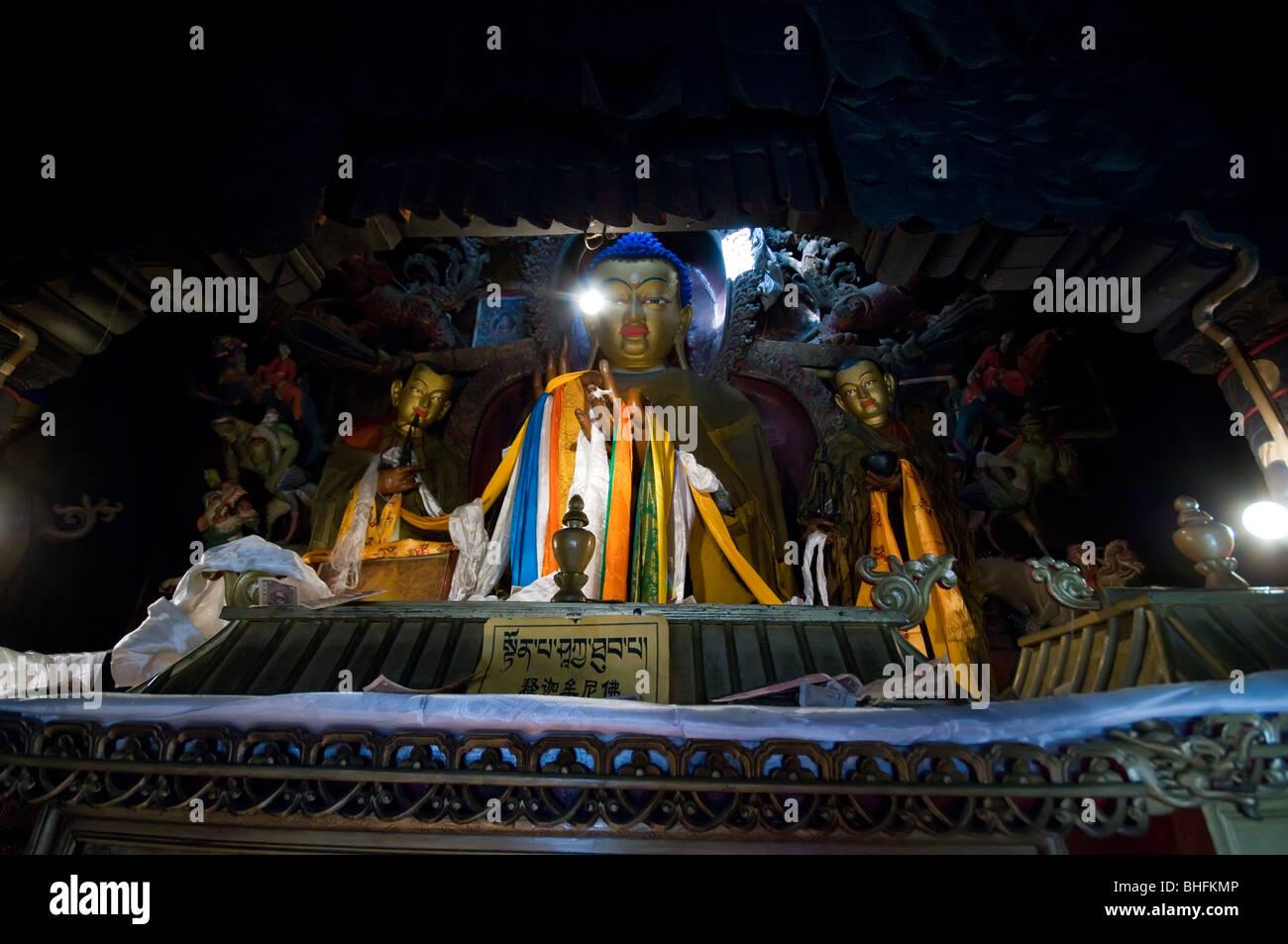 Gyantse Kumbum chorten, Tibet - Stock Image