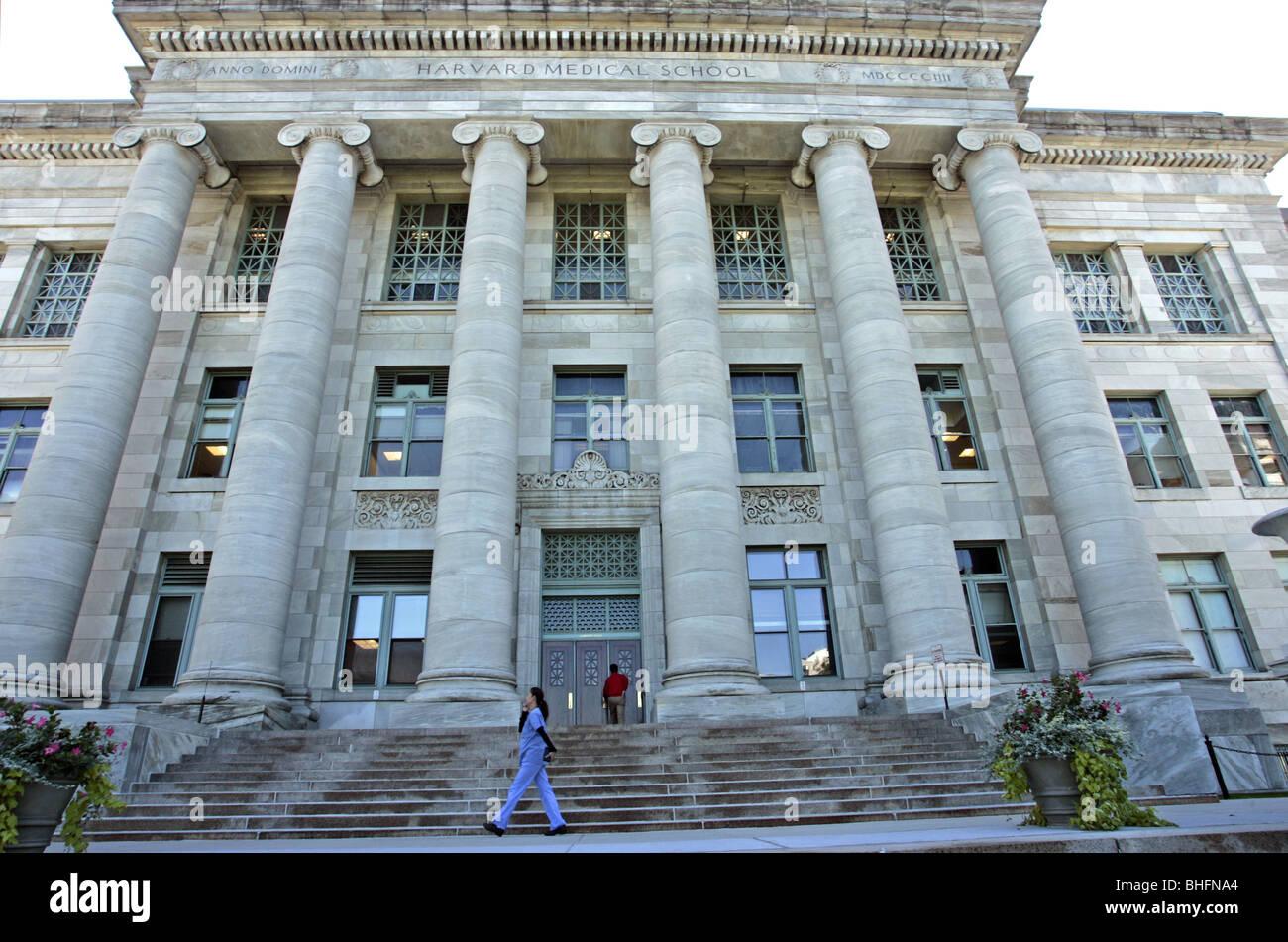 Harvard Medical School Boston - Stock Image