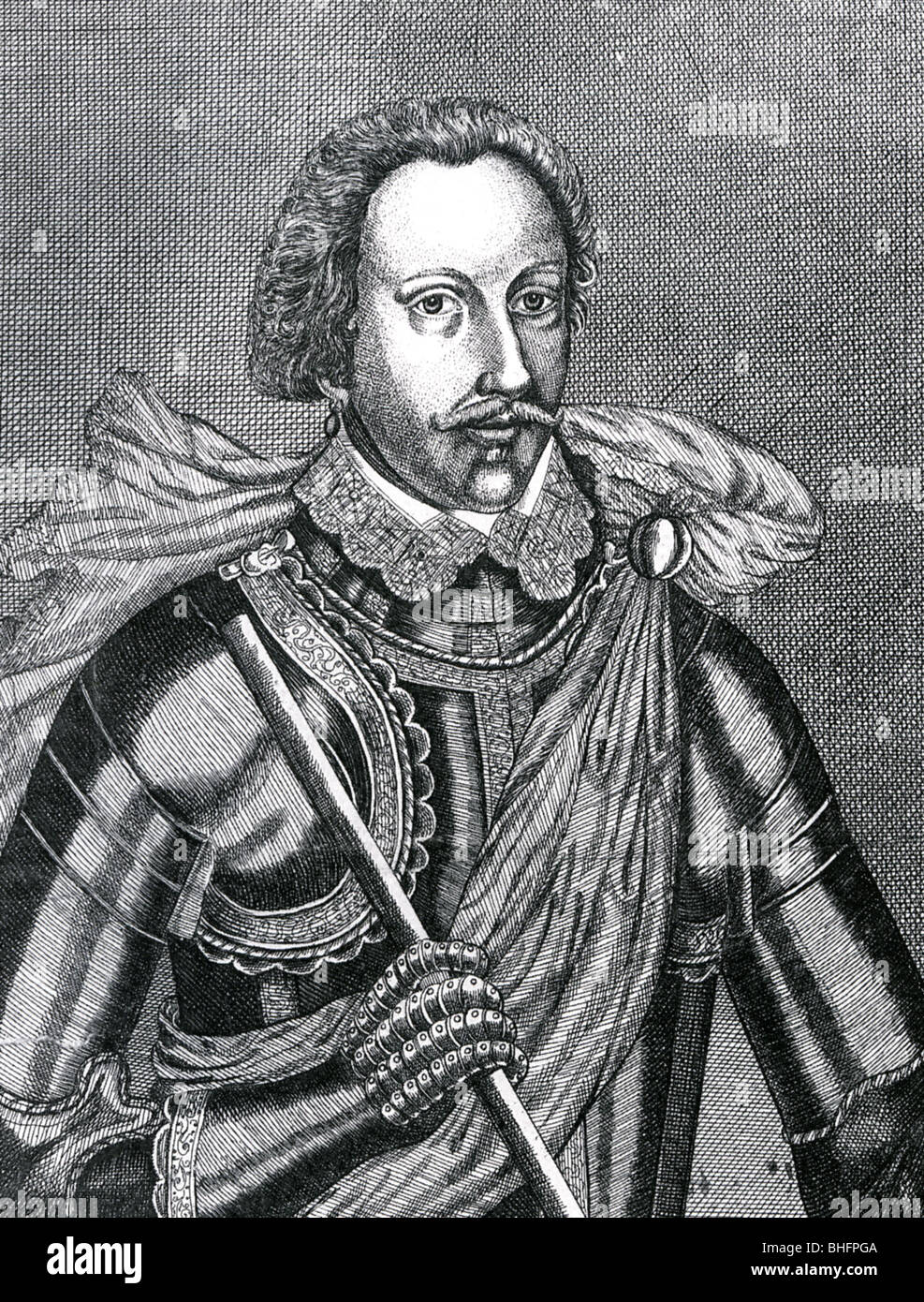 SIR PHILIP SIDNEY  - English soldier, poet and courtier (1554-86) - Stock Image
