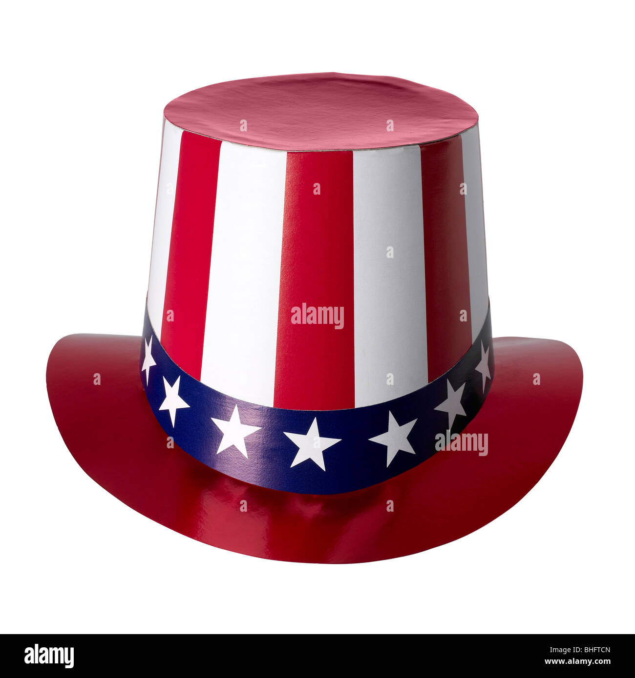 Uncle Sam Hat Patriotic USA 4th Fourth of July Red White Blue Costume Accessory