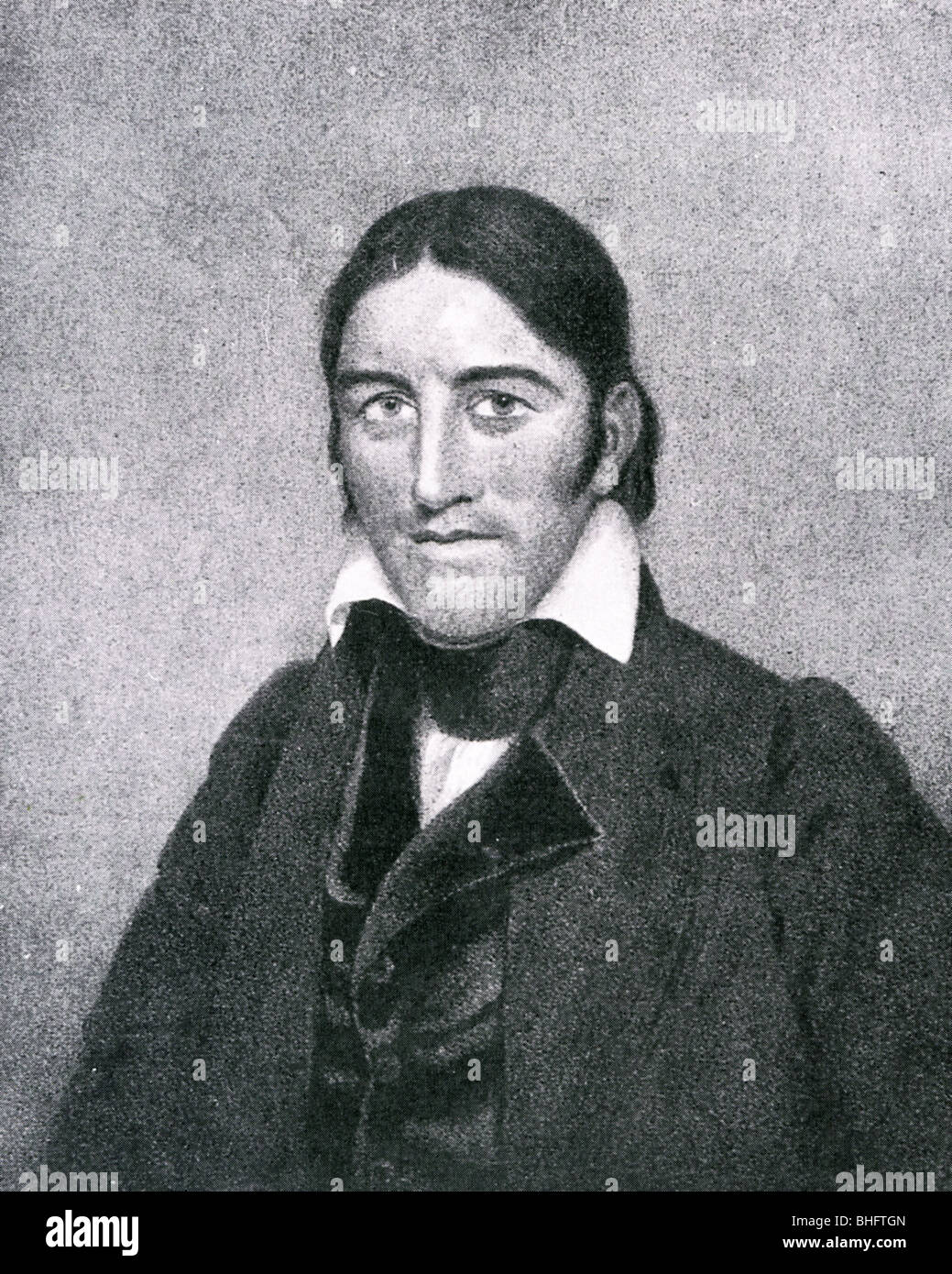 DAVY CROCKETT (1786-1836) US frontiersman - Stock Image