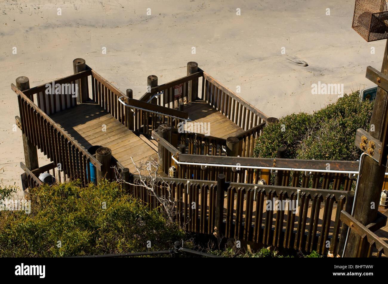 D Street Beach Access Stairs