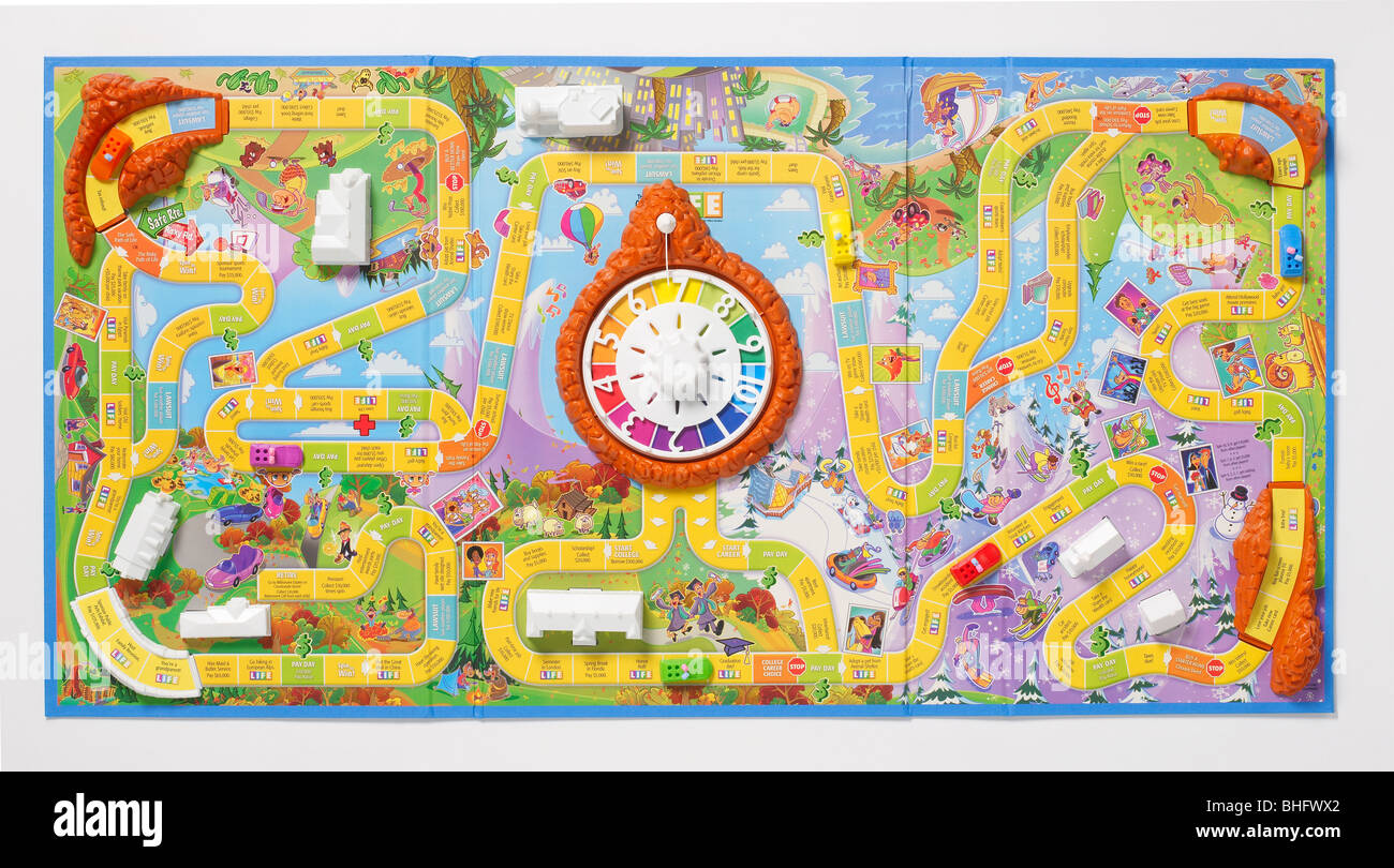 The Game of Life - Stock Image
