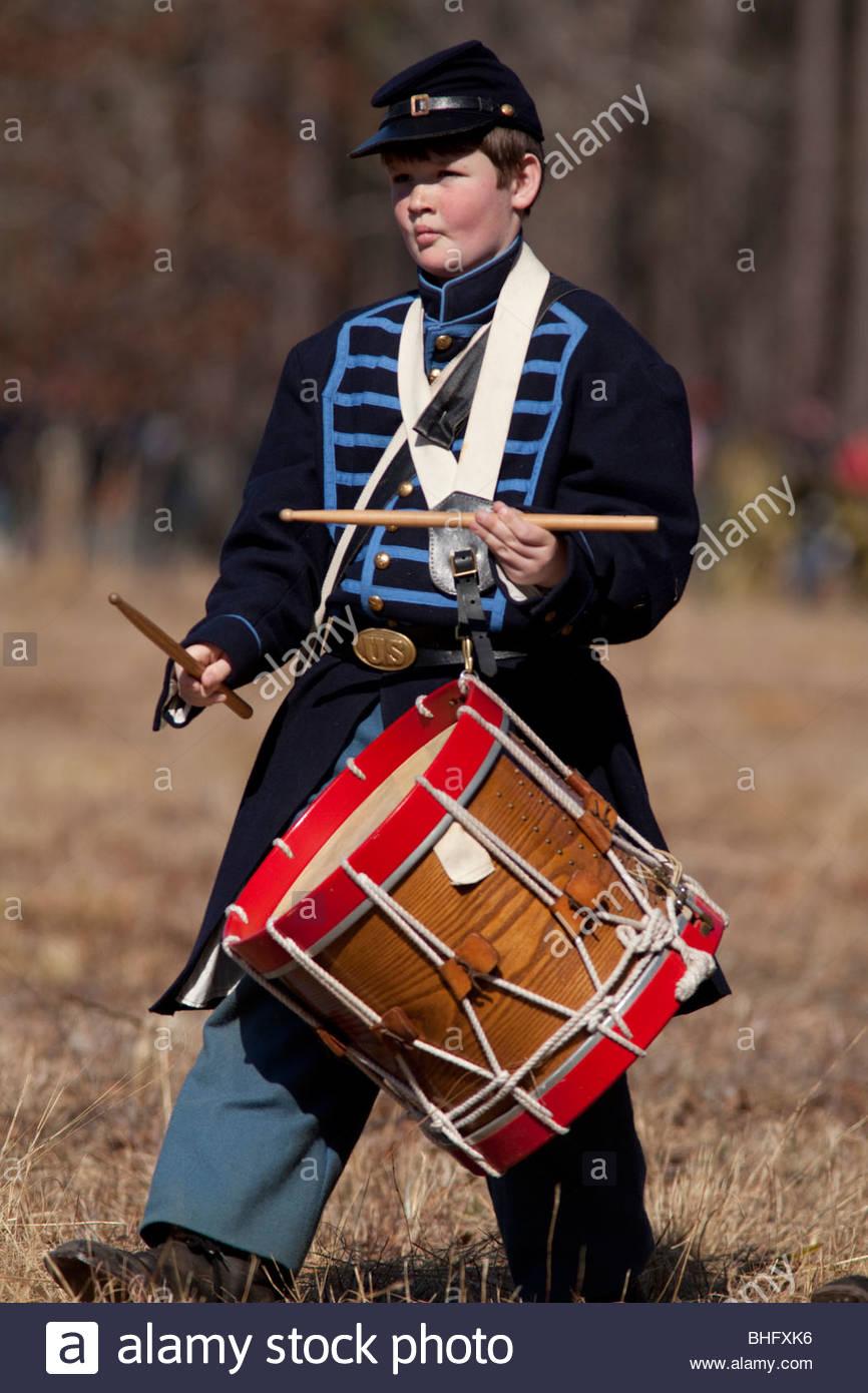 Olustee Civil War Reenactment, Olustee, Florida - Stock Image