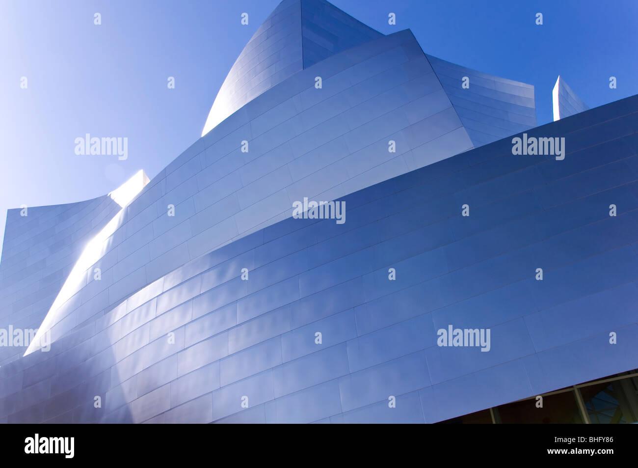 The Walt Disney Concert Hall in Los Angeles, California, USA - Stock Image