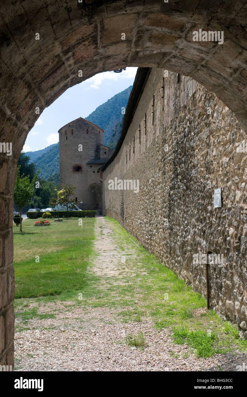 Villefranche-de-Conflent, Prades, Pyrénées-Orientales, Languedoc-Roussillon, France, Europe - Stock Image