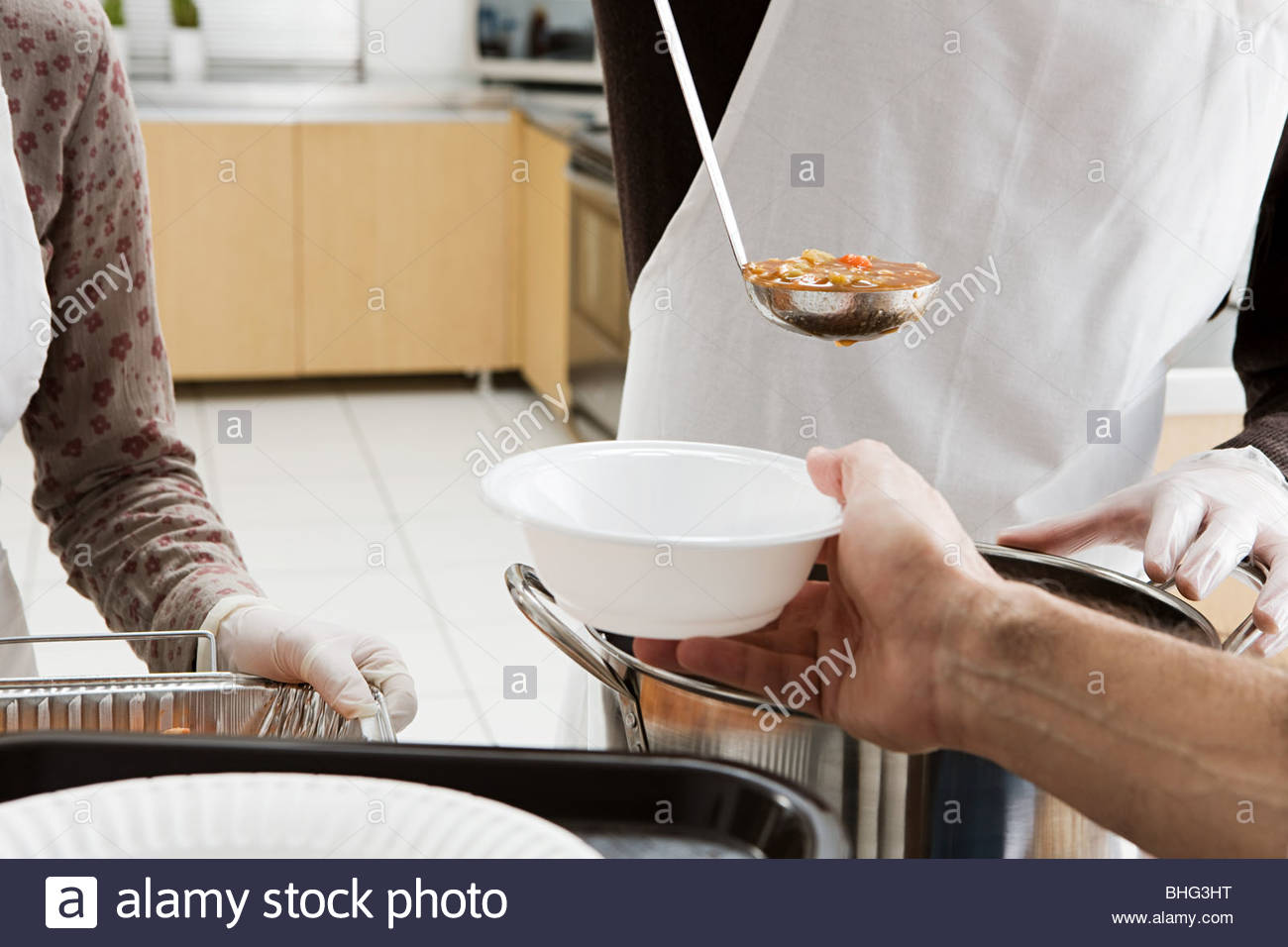 Lady Serving Inside Stock Photos & Lady Serving Inside Stock Images ...