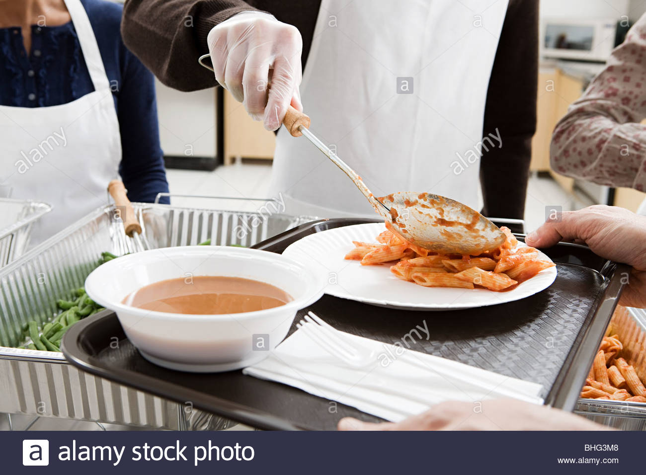 Being Served Stock Photos & Being Served Stock Images - Alamy