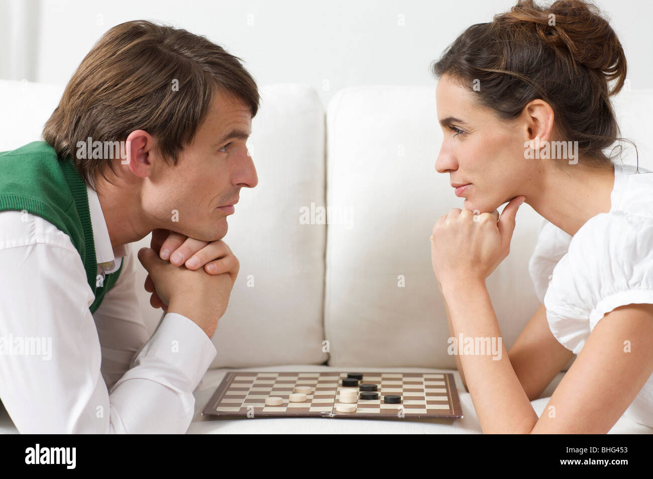 not a game for all lovers - Stock Image