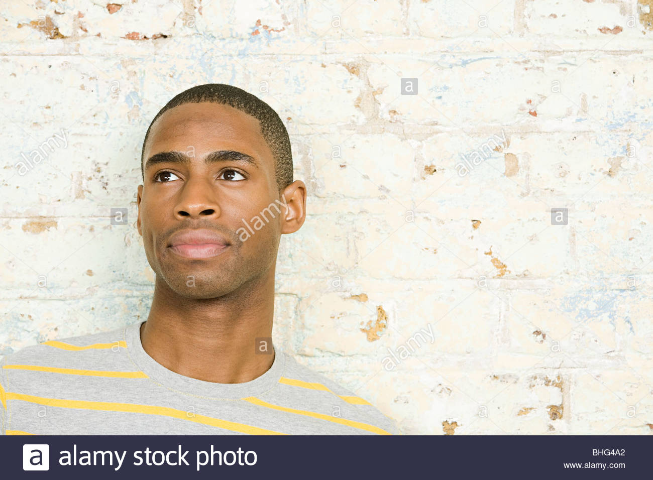 Portrait of a young man - Stock Image