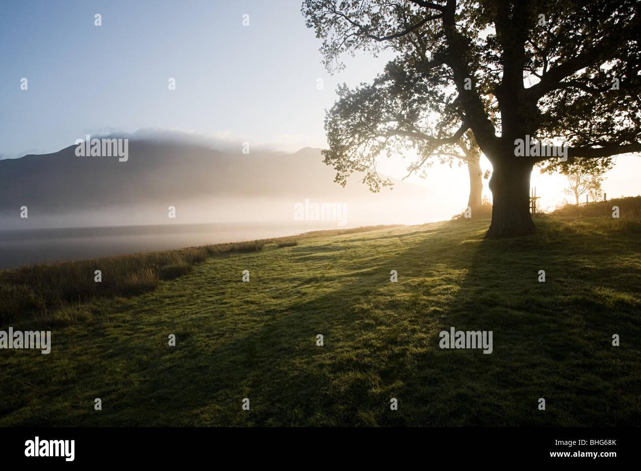 Bassenthwaite Lake, Lake District, Cumbria, England - Stock Image