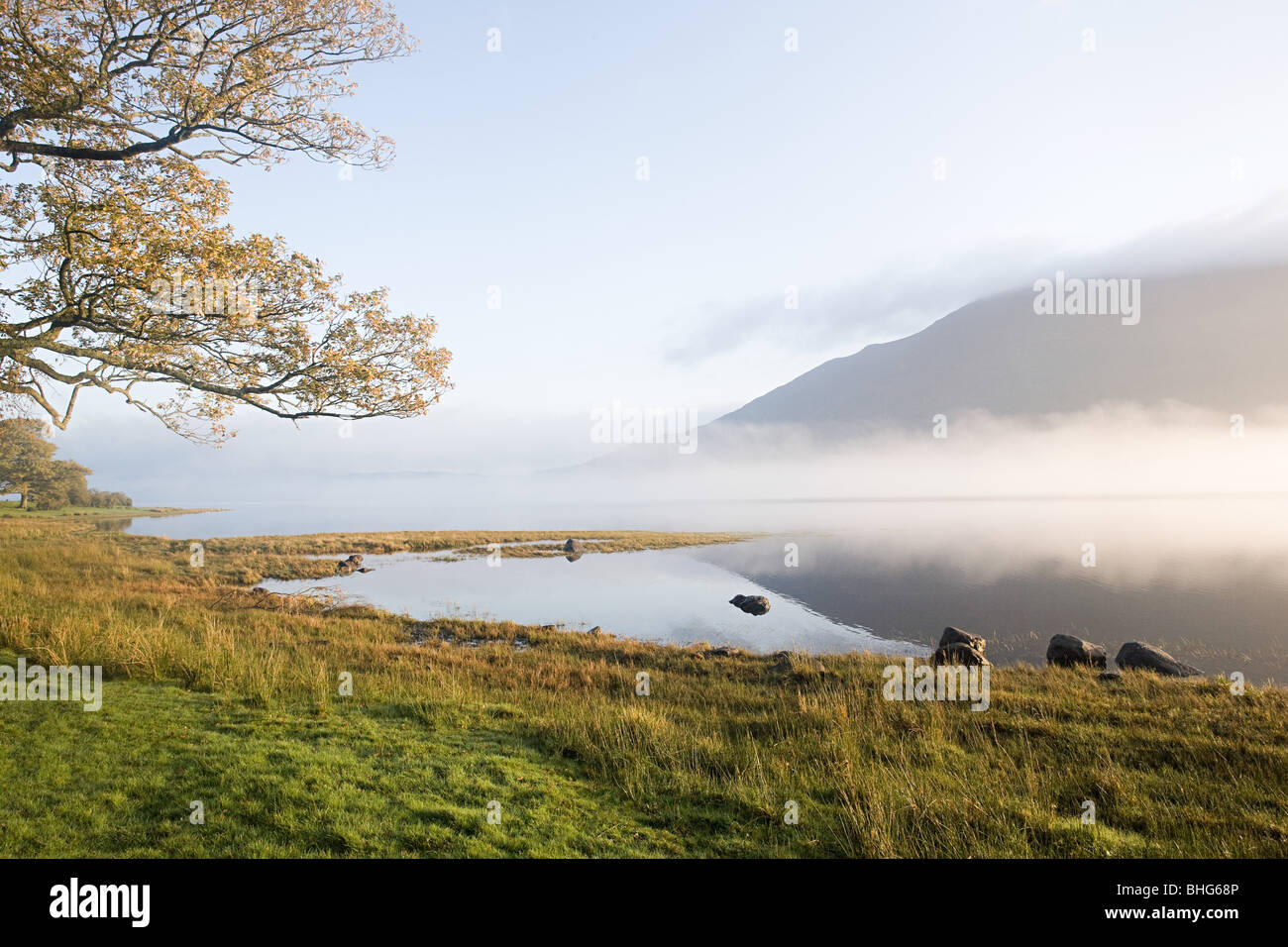Bassenthwaite Lake, Lake District, Cumbria, England - Stock Image