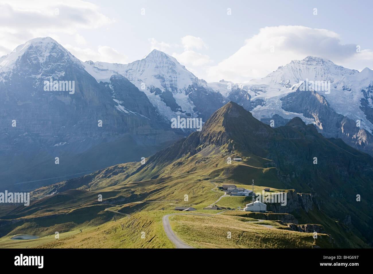 Männlichen, Bernese Oberland, Switzerland - Stock Image
