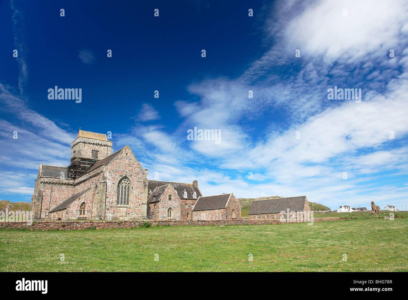 Iona abbey - Stock Image