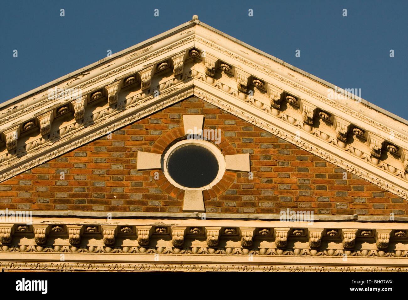 architectural detail Sevenoaks Kent - Stock Image