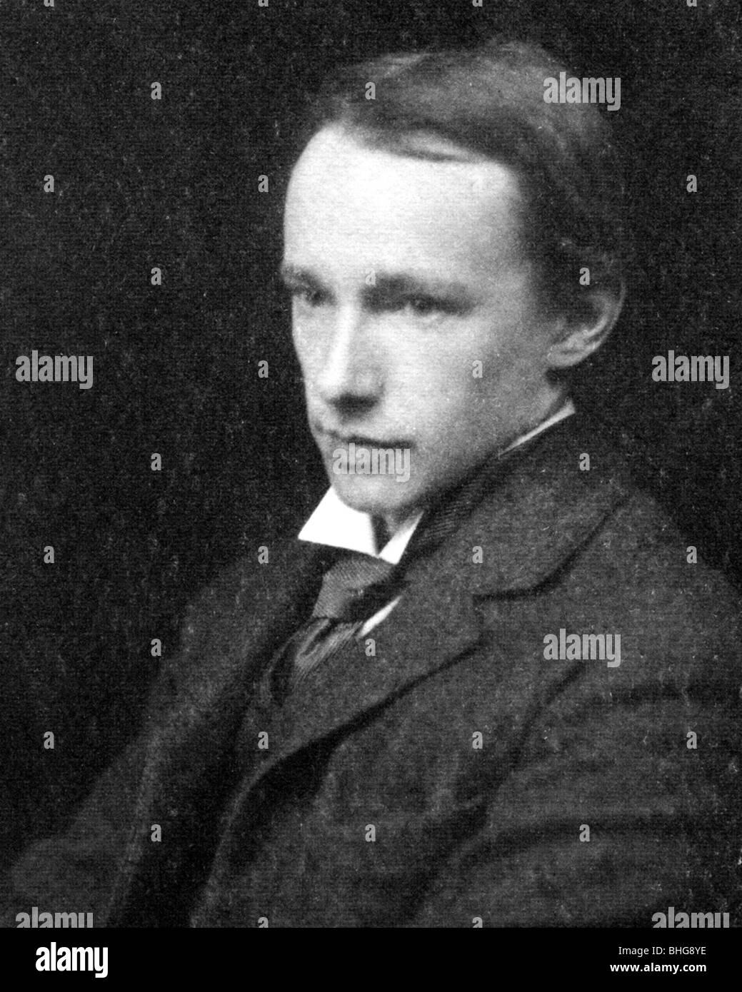 GEORGE EDWARD MOORE - English philosopher (1873-1958) - Stock Image