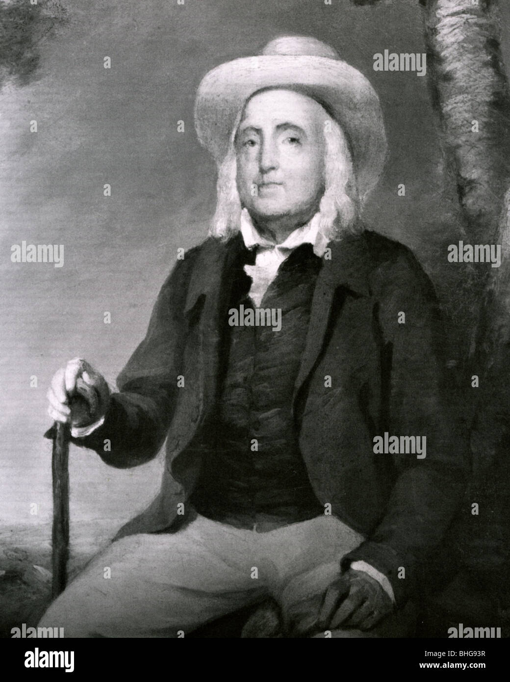 JEREMY BENTHAM - English philosopher and social reformer (1748-1832) - Stock Image