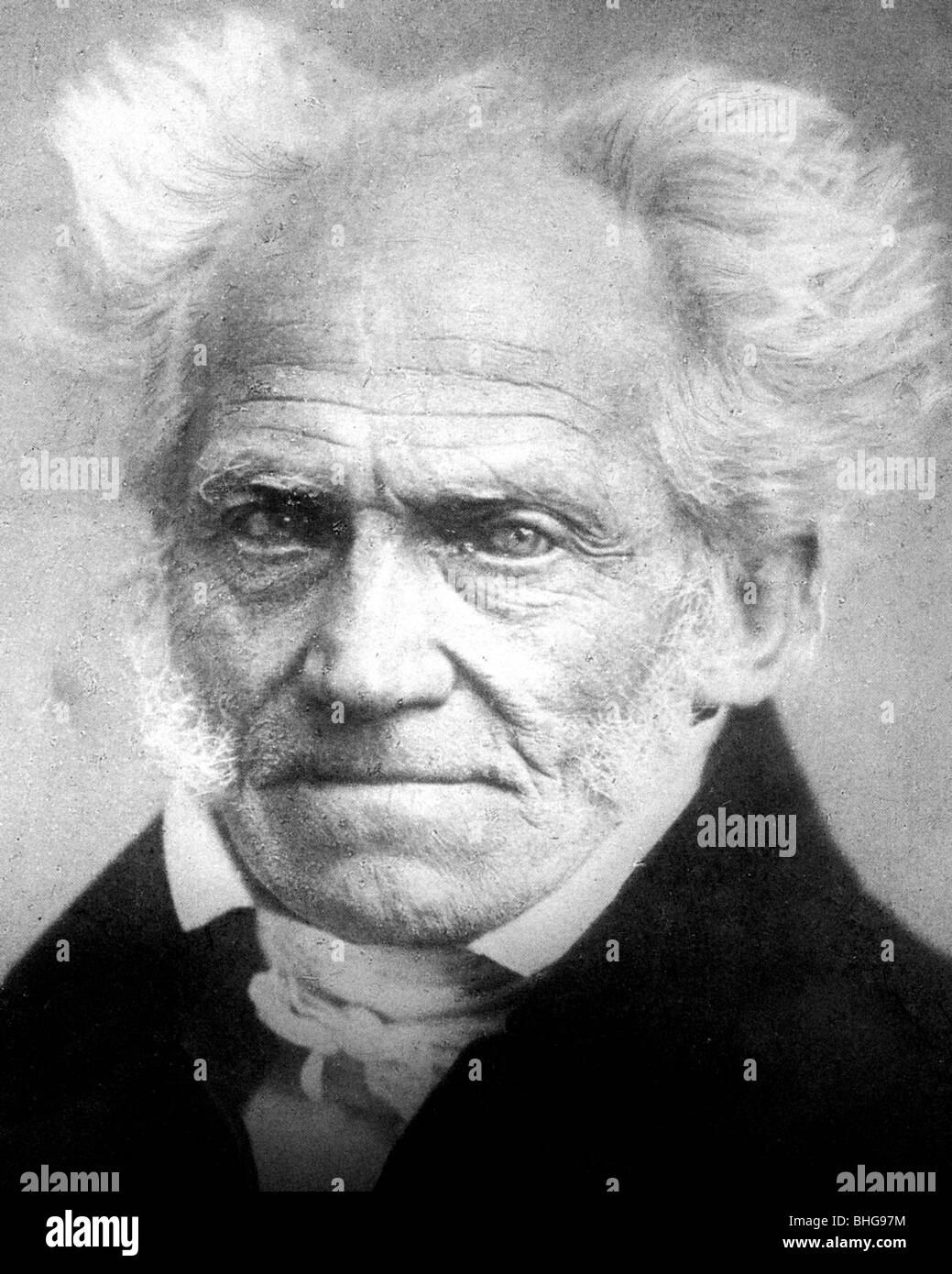 ARTHUR SCHOPENHAUER - German philosopher (1788-1860 Stock