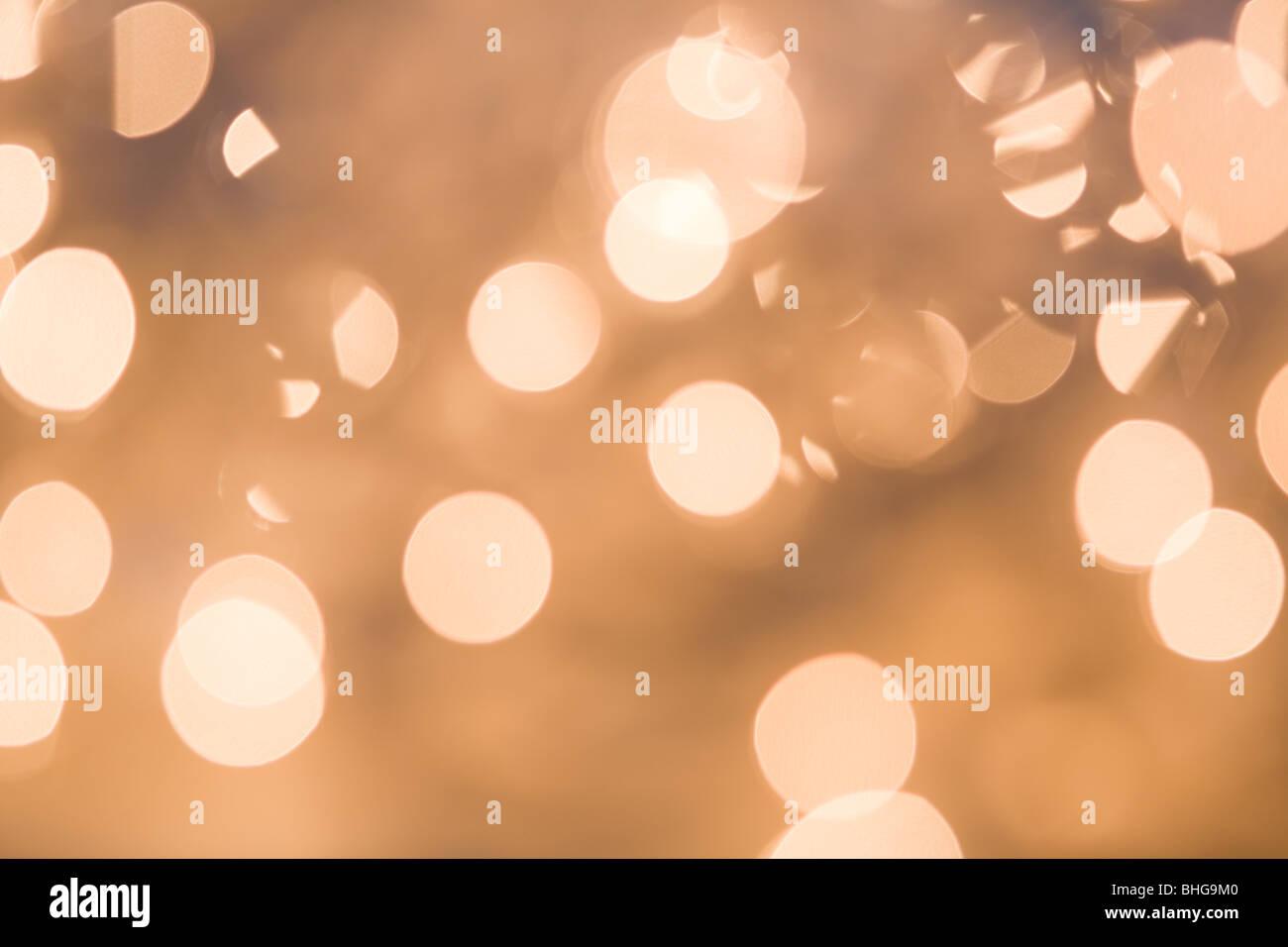 Circles of light - Stock Image