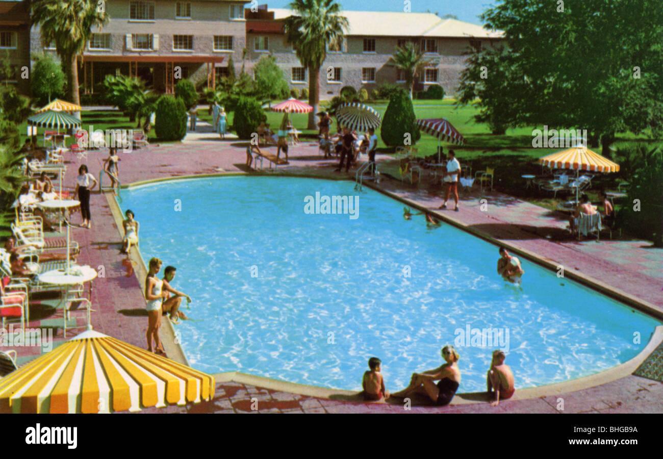 1950s swimming pool stock photos 1950s swimming pool - Public swimming pools north las vegas ...