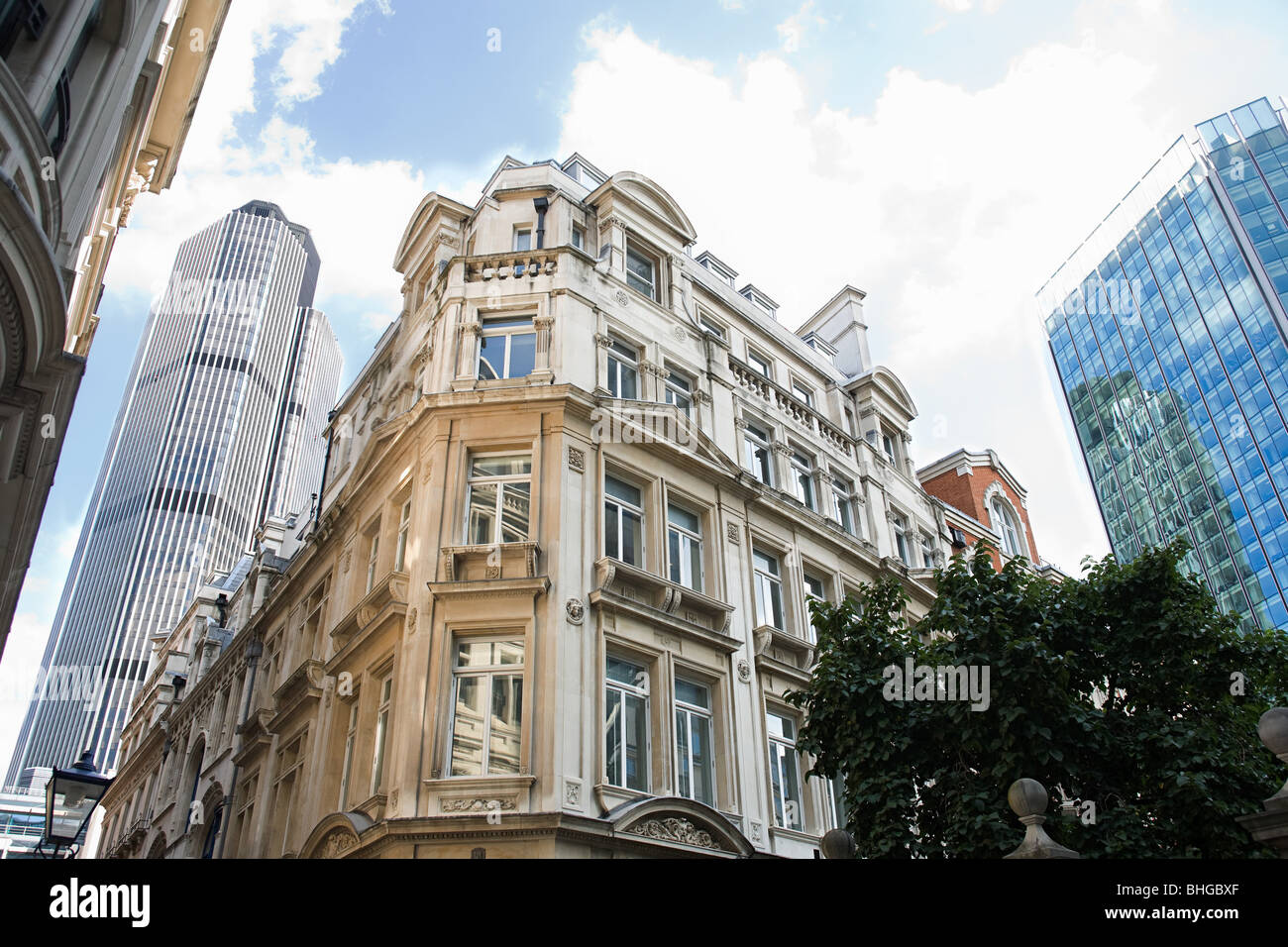 City of london buildings - Stock Image