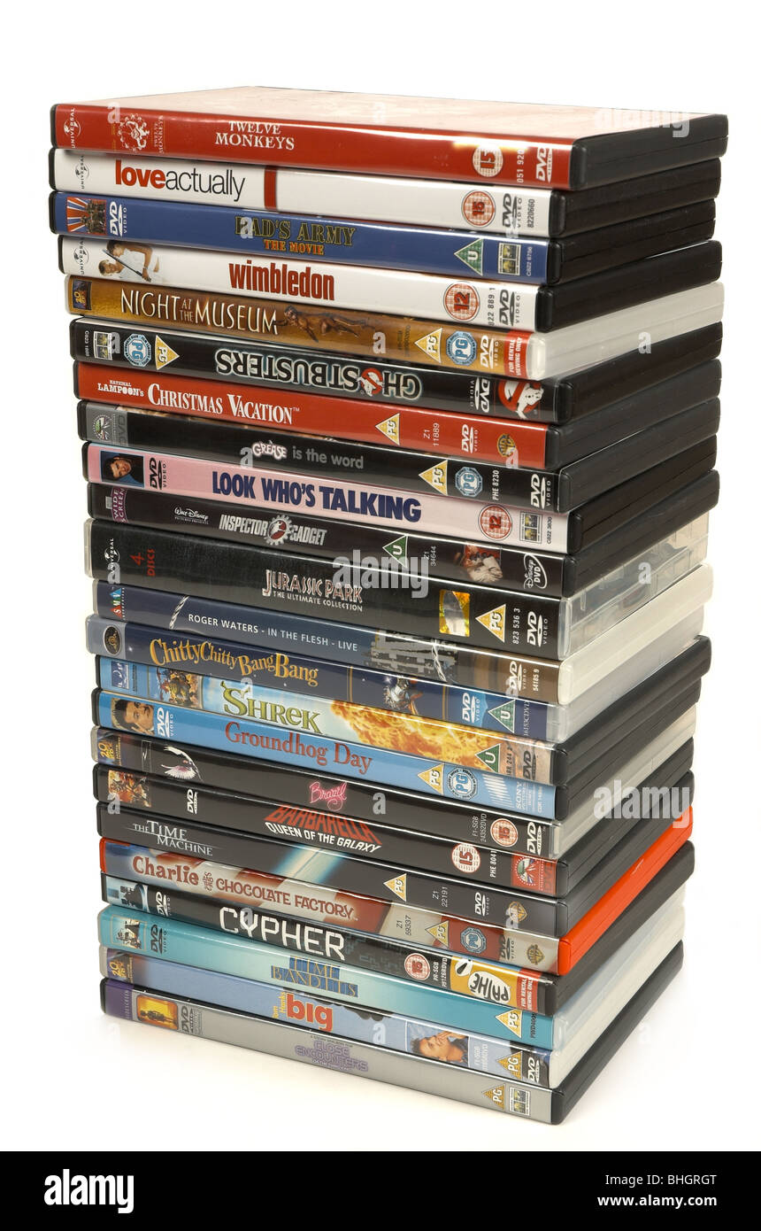 stack of dvds stock photos stack of dvds stock images alamy rh alamy com Clip Art Stack of Books Stack of Papers Clip Art