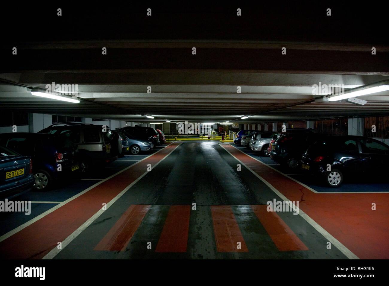 multistory car park - Stock Image
