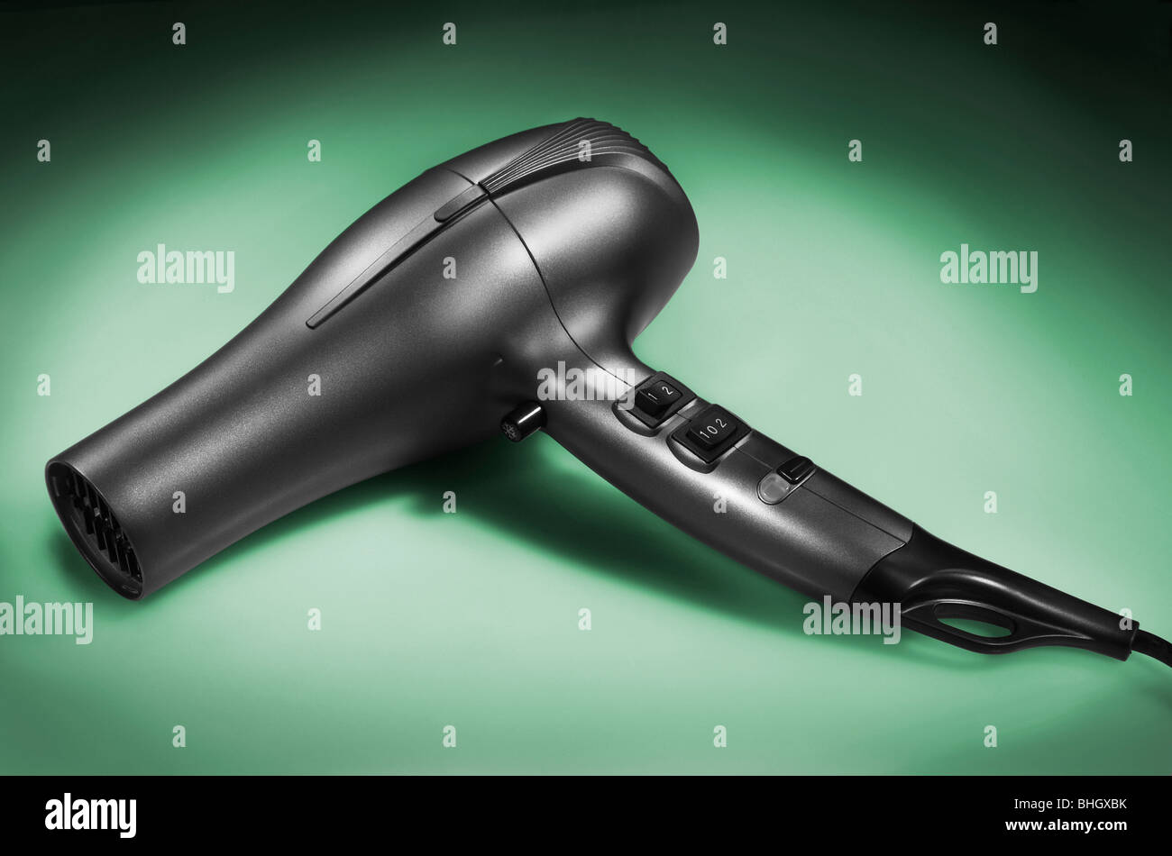 Product shot of hair dryer - Stock Image