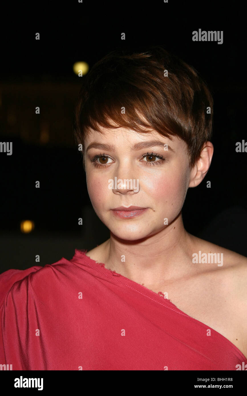 CAREY MULLIGAN 62ND ANNUAL DIRECTORS GUILD OF AMERICA OUTSIDE ARRIVALS BEVERLY HILLS LOS ANGELES CA USA 30 January - Stock Image