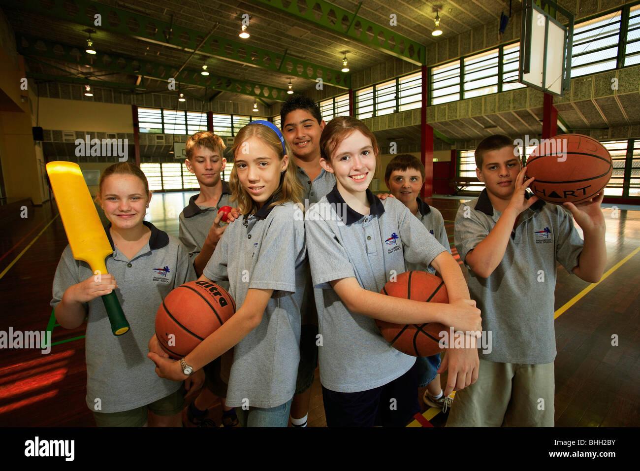 Palmerston High School, northern territory australia. - Stock Image