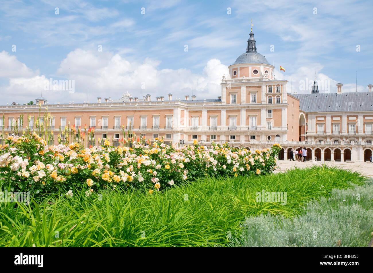 Royal Palace. Aranjuez,  Madrid province, Spain. - Stock Image
