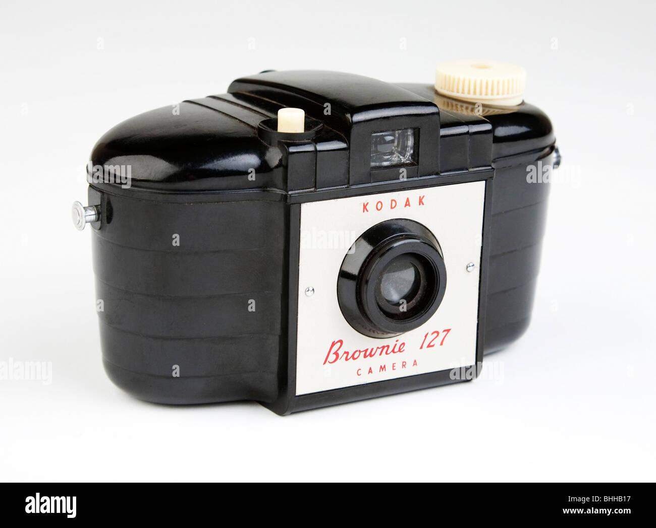 Kodak Brownie camera 1950s classic Stock Photo