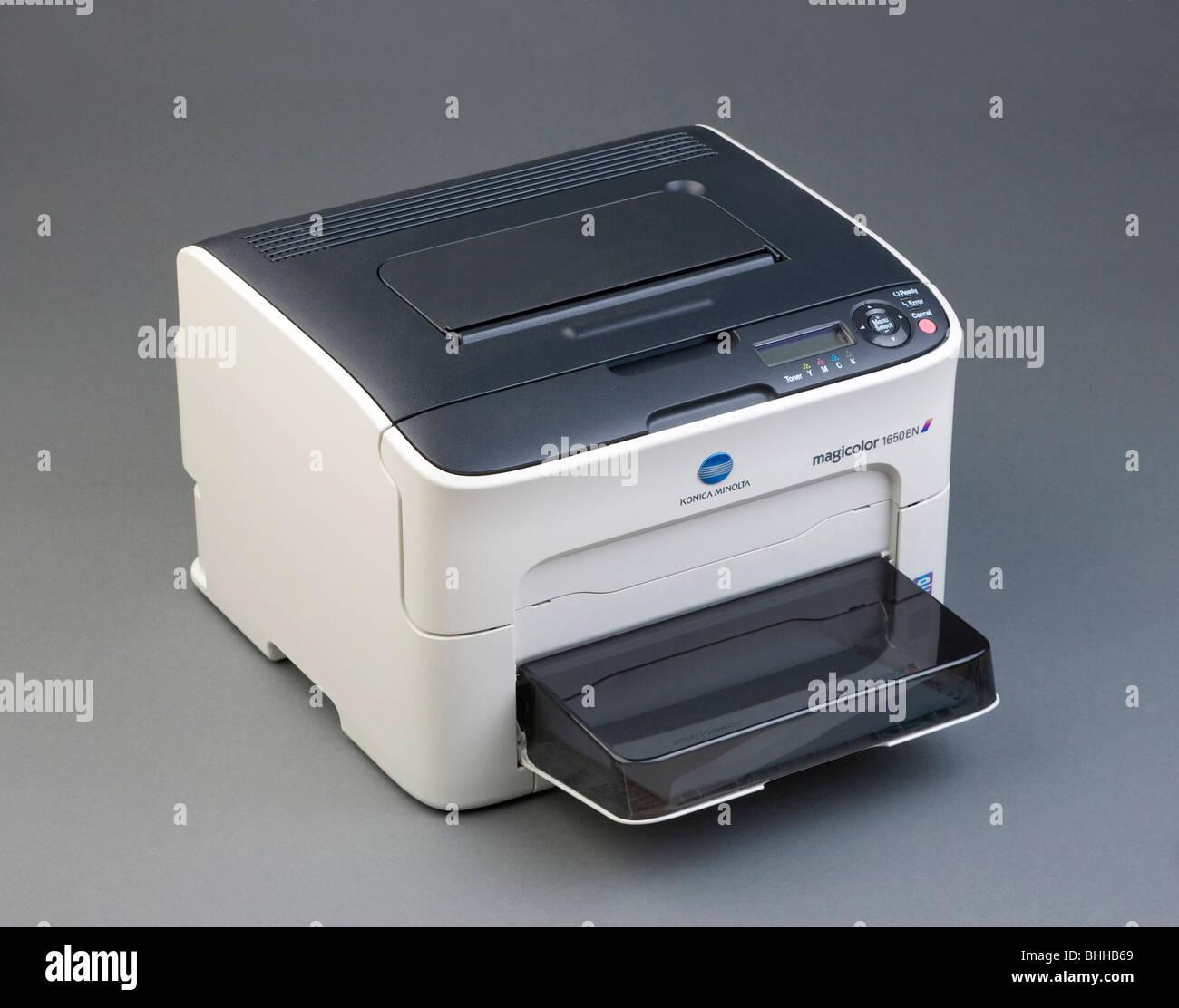 Konica Minolta Magicolor 1650EN colour laser printer
