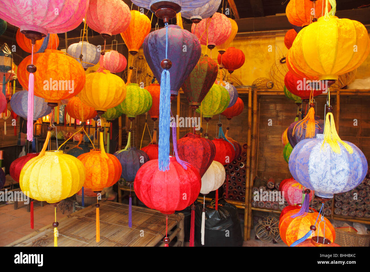 colorful paper lanterns stock photos colorful paper lanterns stock