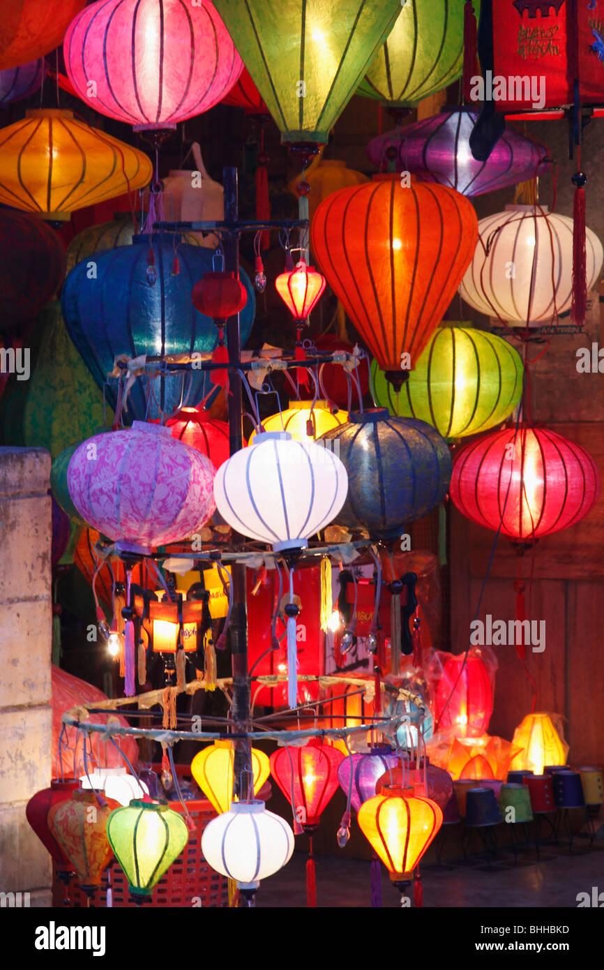 vietnam hoi an colorful paper lanterns stock photo 28041873 alamy