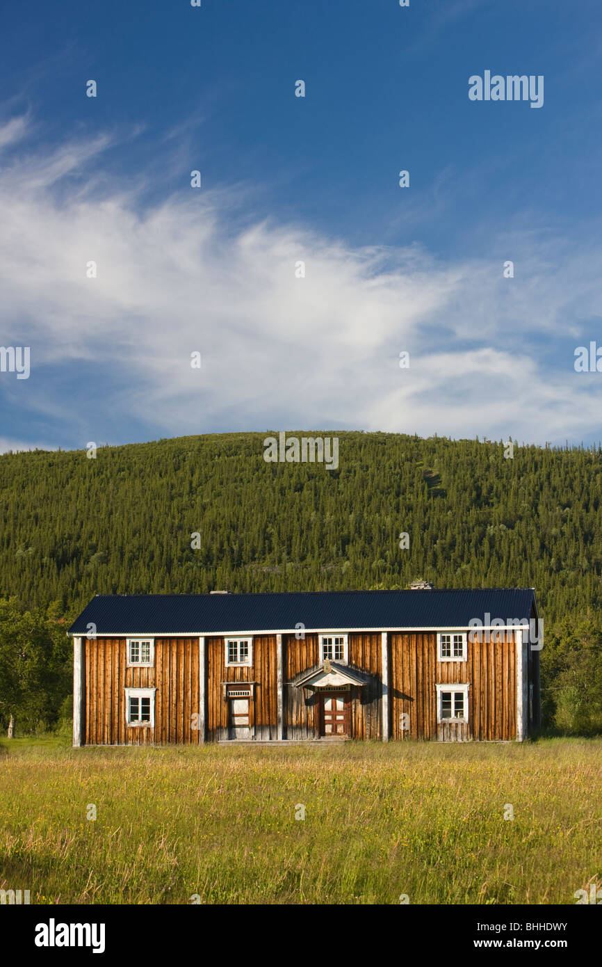 An old farm, Harjedalen, Sweden. - Stock Image