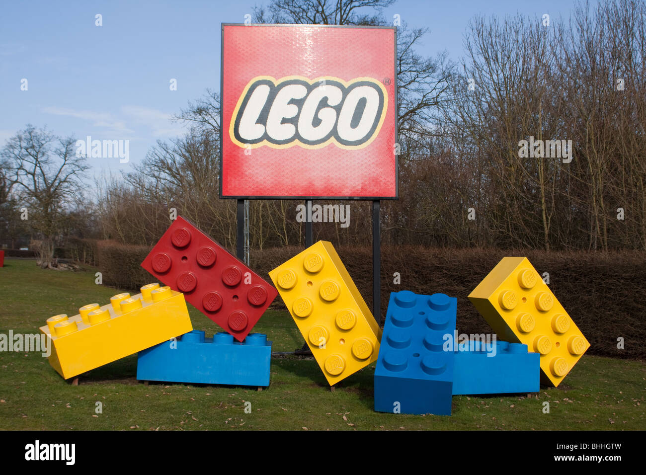 Legoland Windsor Stock Photo
