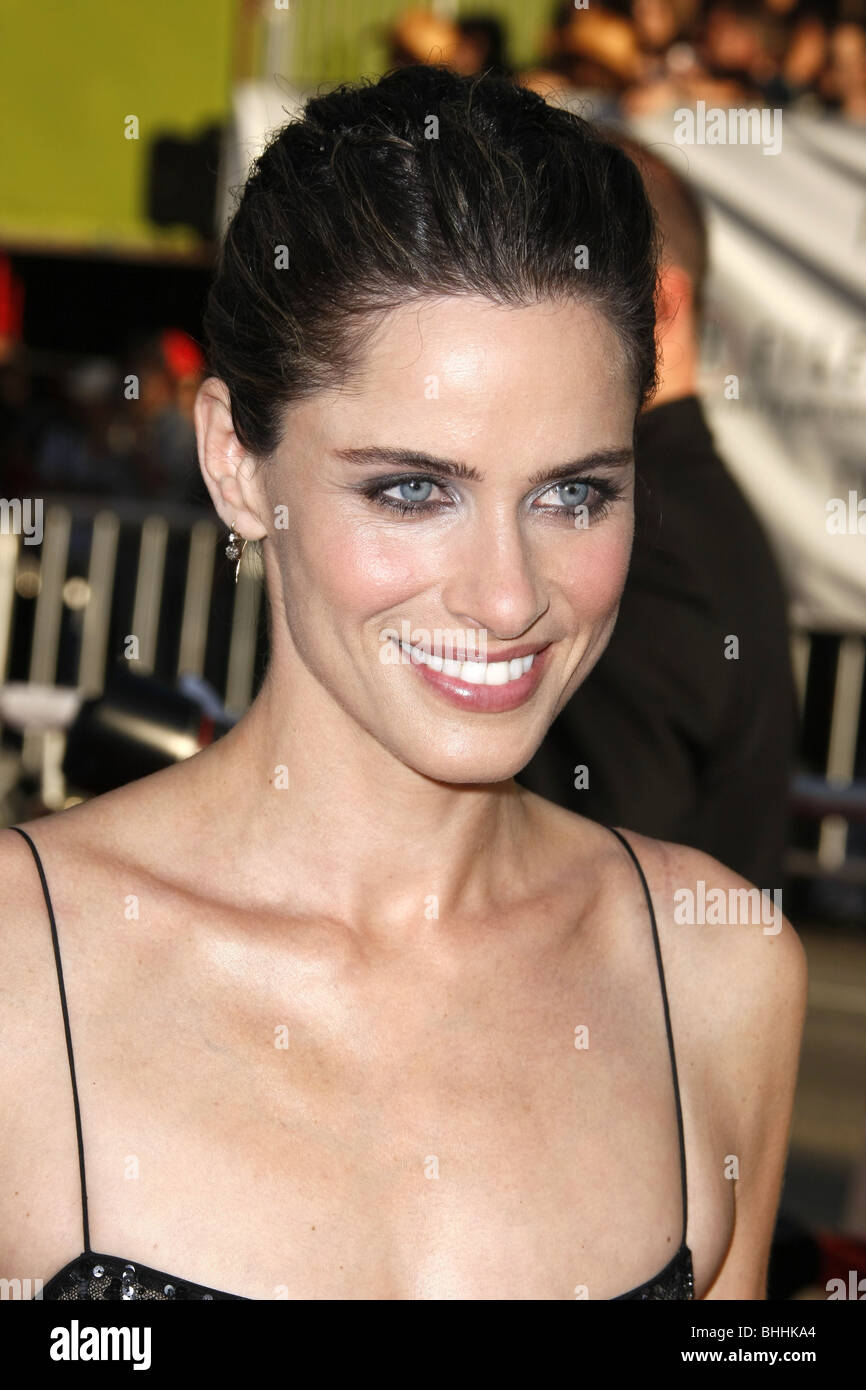 AMANDA PEET THE X-FILES: I WANT TO BELIEVE WORLD PREMIERE HOLLYWOOD LOS ANGELES CA USA 23 July 2008 - Stock Image