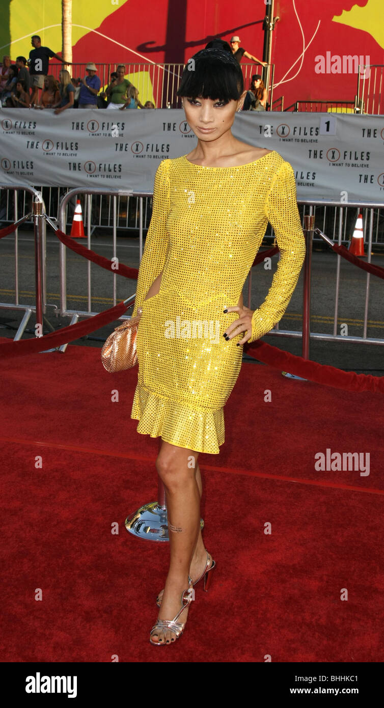 BAI LING THE X-FILES: I WANT TO BELIEVE WORLD PREMIERE HOLLYWOOD LOS ANGELES CA USA 23 July 2008 - Stock Image