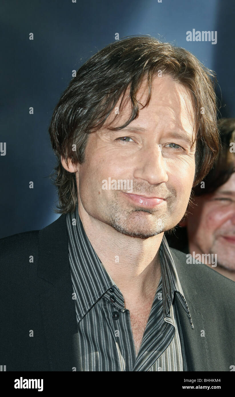 DAVID DUCHOVNY THE X-FILES: I WANT TO BELIEVE WORLD PREMIERE HOLLYWOOD LOS ANGELES CA USA 23 July 2008 - Stock Image