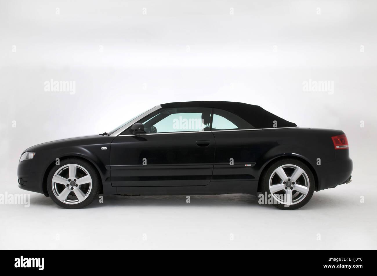 2008 Audi A4 Convertible 2.0 TDi S Line - Stock Image